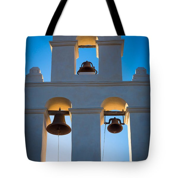 Texas Mission Tote Bag by Inge Johnsson