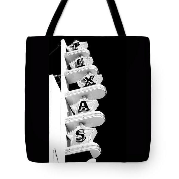 Texas Theater Tote Bag by Darryl Dalton