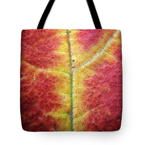 Textural Intricacy Tote Bag by Natasha Marco