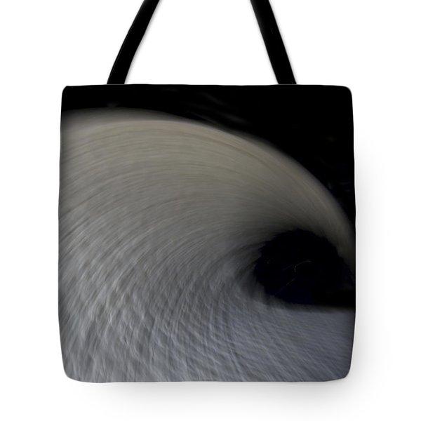 Textured Vortex Tote Bag by Sean Davey