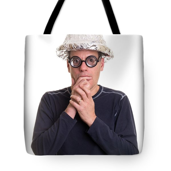 Thank You Card Tote Bag by Edward Fielding