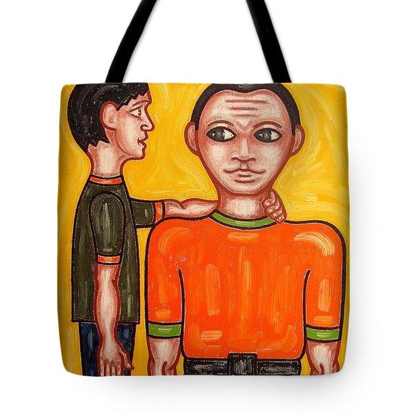 THANKS DAD Tote Bag by Patrick J Murphy