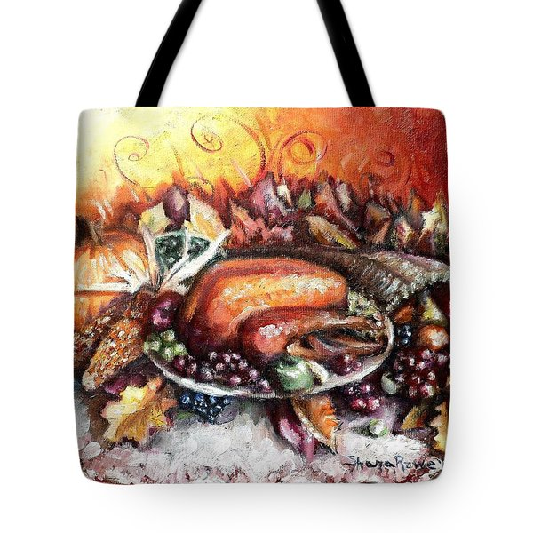 Thanksgiving Dinner Tote Bag by Shana Rowe Jackson