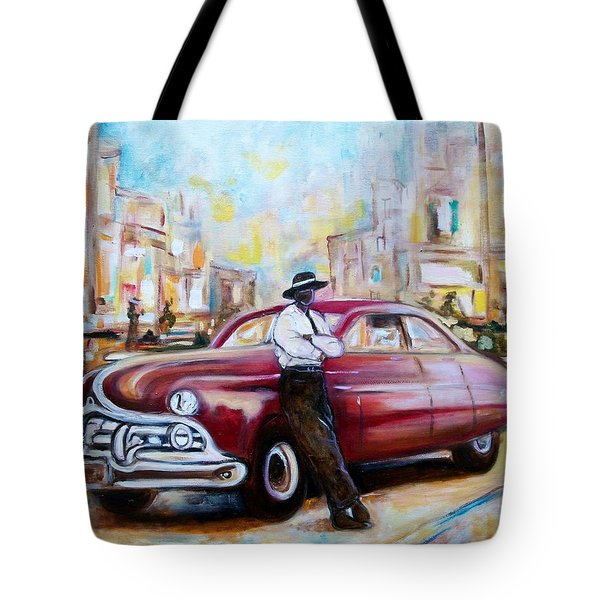 The 1950 Tote Bag by Emery Franklin
