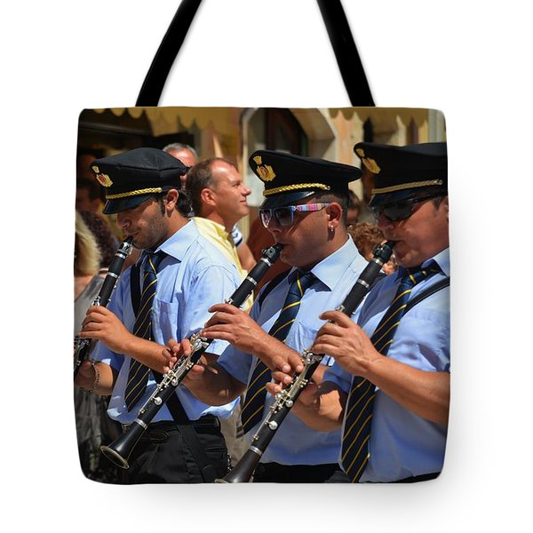 The 3 musicians Tote Bag by Dany  Lison