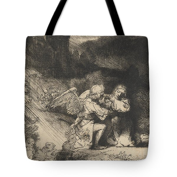 The Agony In The Garden Tote Bag by Rembrandt
