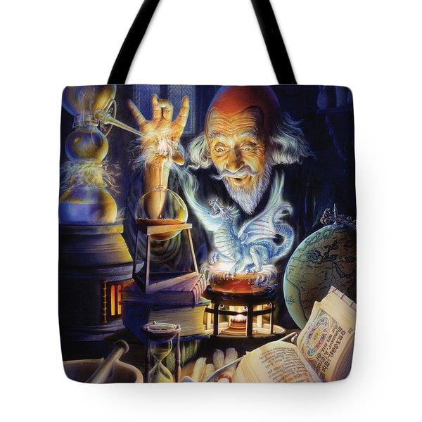 The Alchemist Tote Bag by Andrew Farley