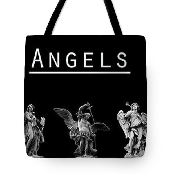 The Angels Of Rome Tote Bag by Fabrizio Troiani