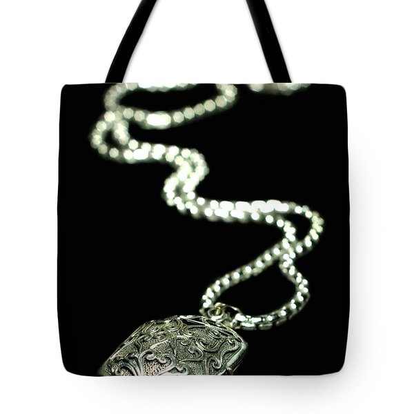 The Antique Locket Tote Bag by Diana Angstadt