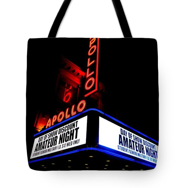 The Apollo Theater Tote Bag by Ed Weidman