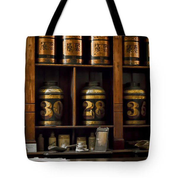 The Apothecary Tote Bag by Heather Applegate