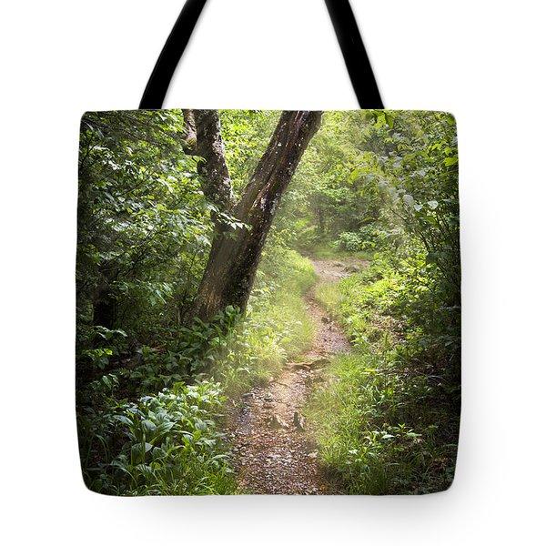 The Appalachian Trail Tote Bag by Debra and Dave Vanderlaan