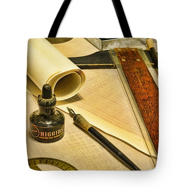 The Architect Tote Bag by Paul Ward