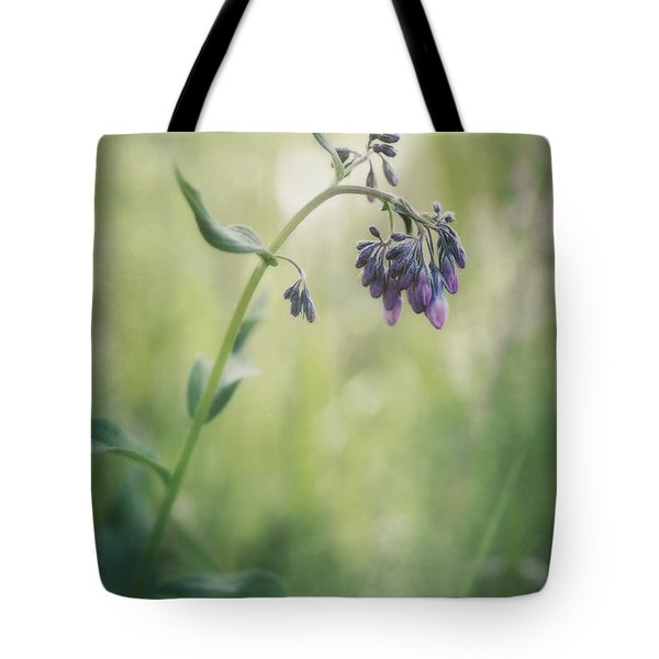 the arrival of spring Tote Bag by Priska Wettstein