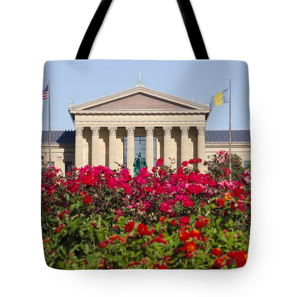 The Art Museum In Summer Tote Bag by Bill Cannon