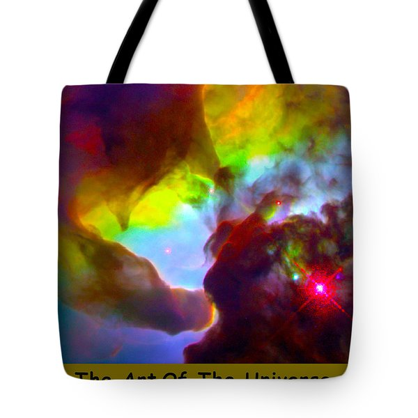 The Art Of The Universe 266 Tote Bag by The Hubble Telescope
