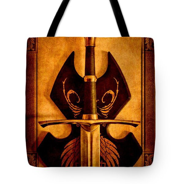 The Art Of War - Eternal Portrait Of A Warrior Tote Bag by Loriental Photography