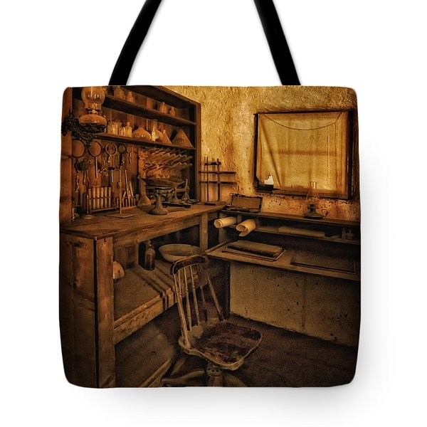 The Assay Office Tote Bag by Priscilla Burgers