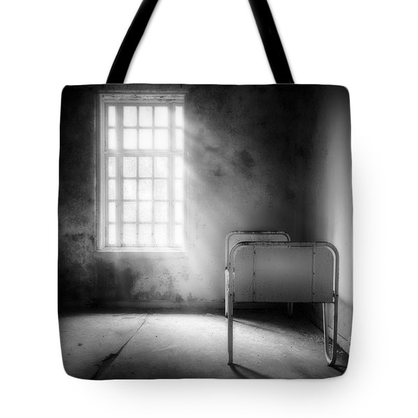 The Asylum Project - Empty Bed Tote Bag by Erik Brede