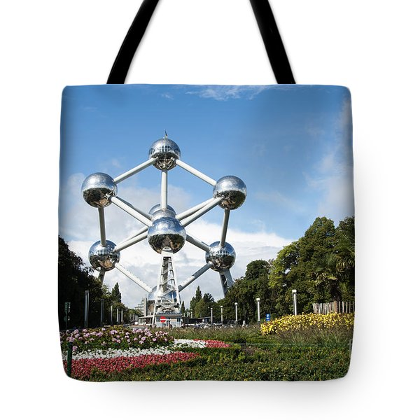 The Atomium Tote Bag by Juli Scalzi