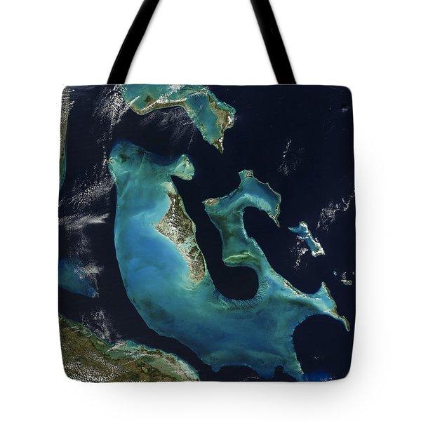 The Bahamas Tote Bag by Adam Romanowicz