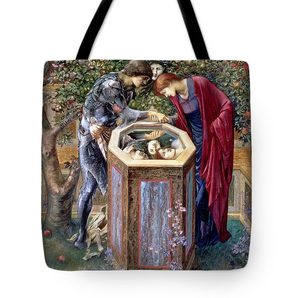 The Baleful Head, C.1876 Tote Bag by Sir Edward Coley Burne-Jones