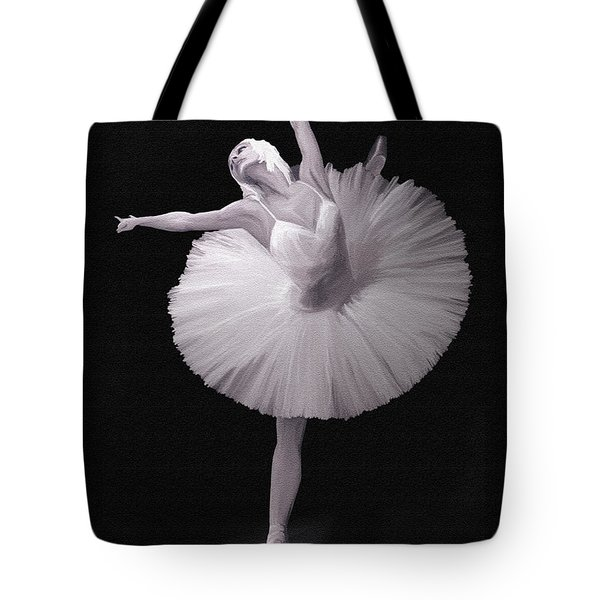 The Ballerina Tote Bag by Angela A Stanton