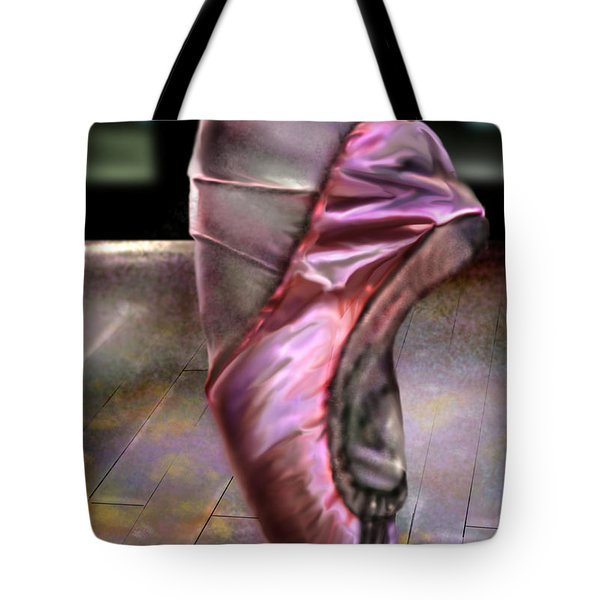 The Ballerina Tote Bag by Reggie Duffie
