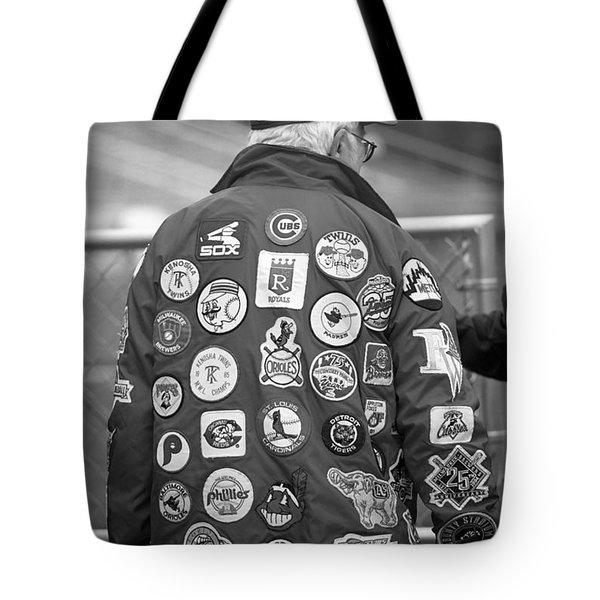 The Baseball Fan Tote Bag by Frank Romeo