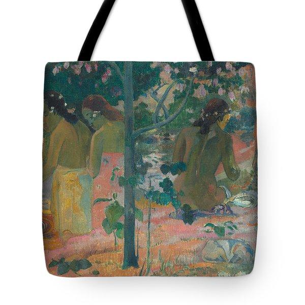The Bathers Tote Bag by Paul Gaugin