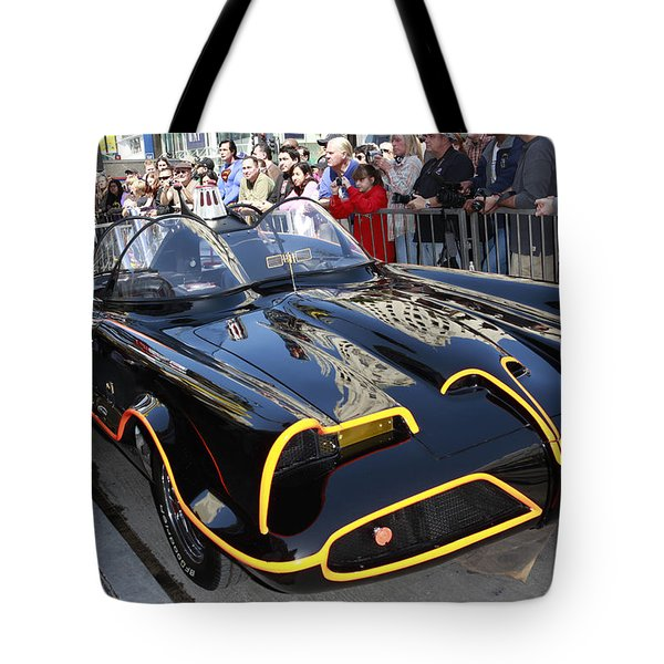 The Batmobile Tote Bag by Nina Prommer