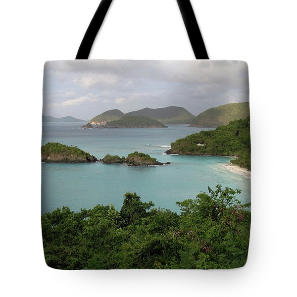The bay Tote Bag by Corinne Rhode