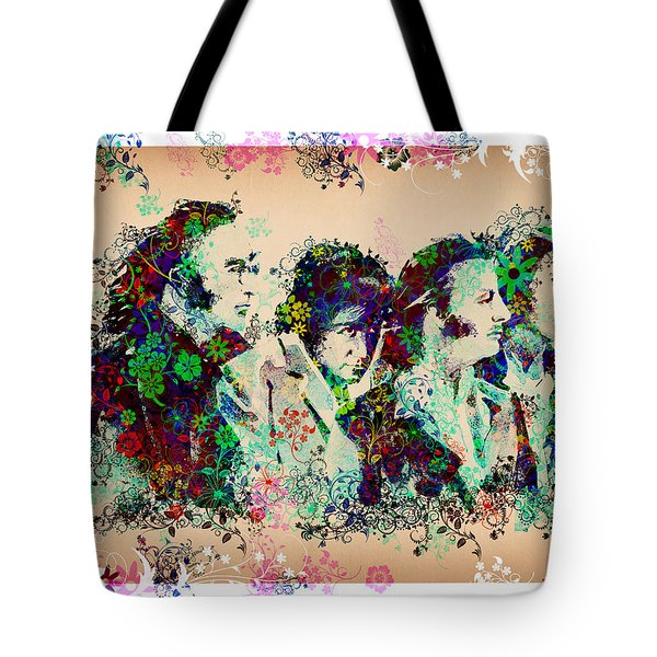 The Beatles 10 Tote Bag by MB Art factory