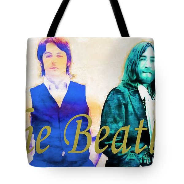 The Beatles Tote Bag by Barbara Chichester
