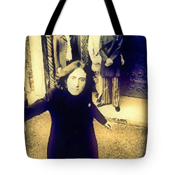 The Beatles - Camera Adjustment Tote Bag by Paulette B Wright