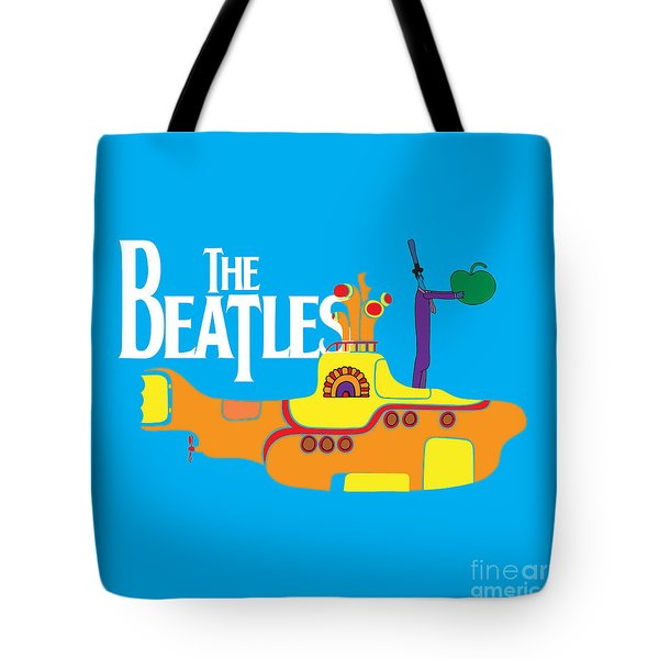 The Beatles No.11 Tote Bag by Caio Caldas