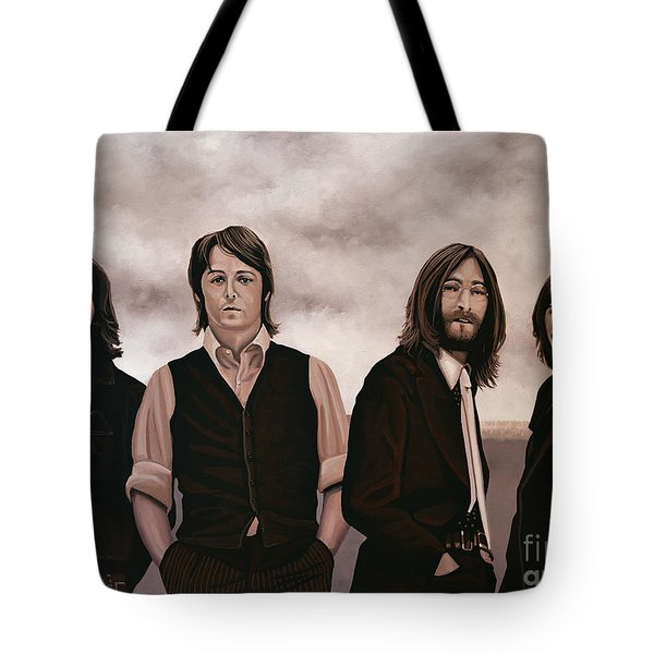 The Beatles Tote Bag by Paul  Meijering