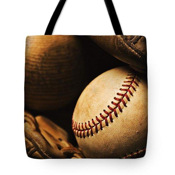 The Beautiful Game Tote Bag by Karen Shukle