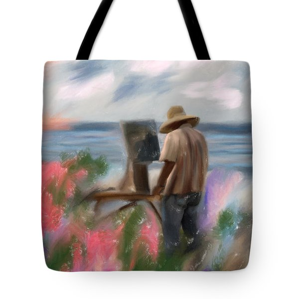 The Beauty Of A Painter Tote Bag by Angela A Stanton