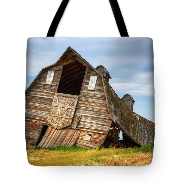 The Beauty Of Barns  Tote Bag by Bob Christopher
