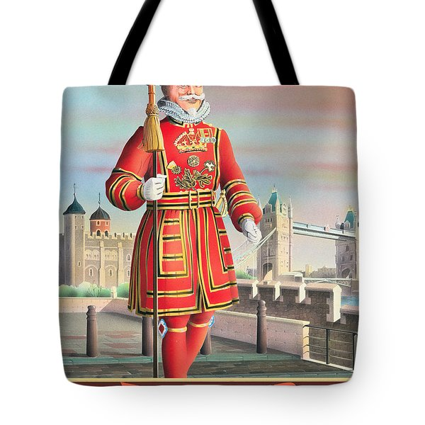 The Beefeater Tote Bag by Peter Green