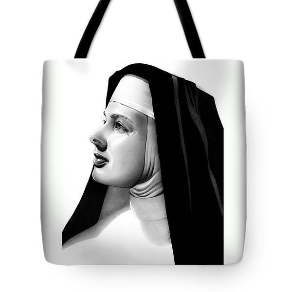 The Bell's Of St. Mary's Sister Mary Benedict Tote Bag by Fred Larucci