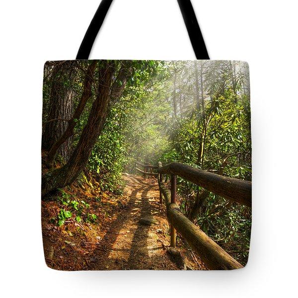 The Benton Trail Tote Bag by Debra and Dave Vanderlaan