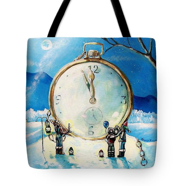 The Big Countdown Tote Bag by Shana Rowe Jackson