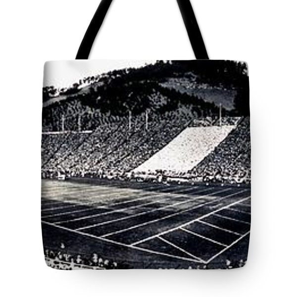 The Big Game 1919 Tote Bag by Benjamin Yeager
