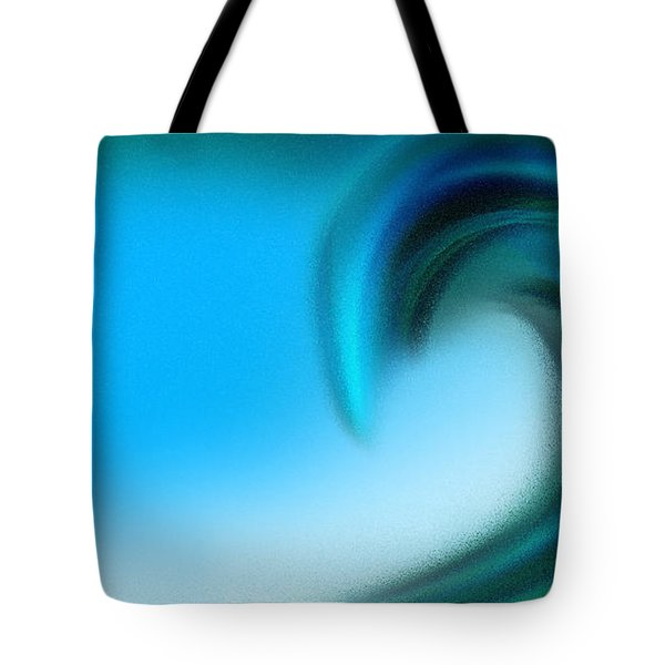The Big Wave Of Hawaii 2 Tote Bag by Andee Design