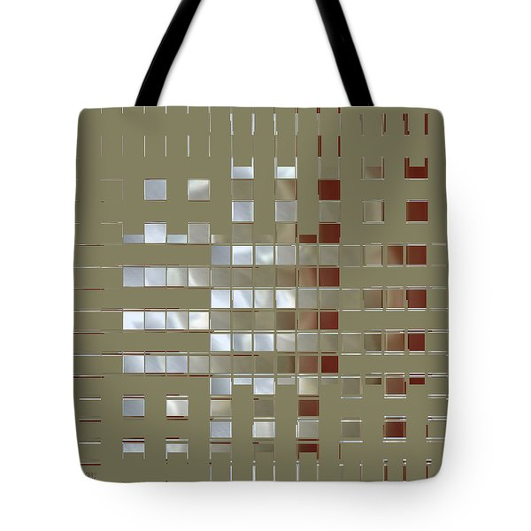 The Birth Of Squares No 1 Tote Bag by Ben and Raisa Gertsberg
