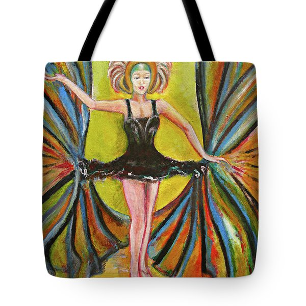 The Black Tutu Tote Bag by Tom Conway