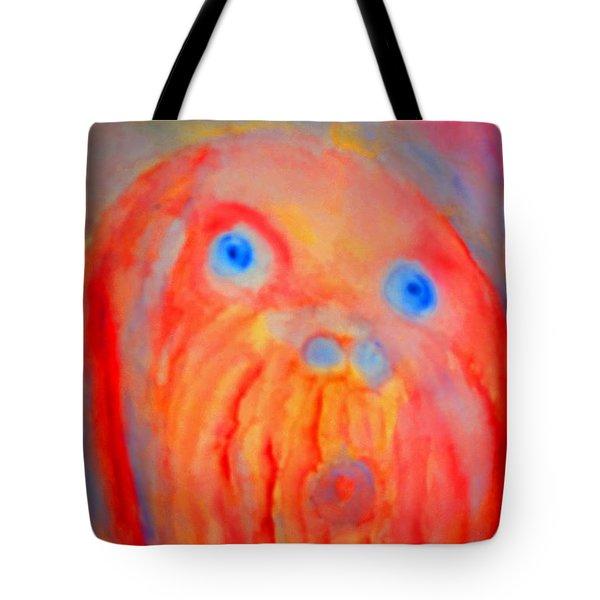 The Blue Eyed Hulder Tote Bag by Hilde Widerberg