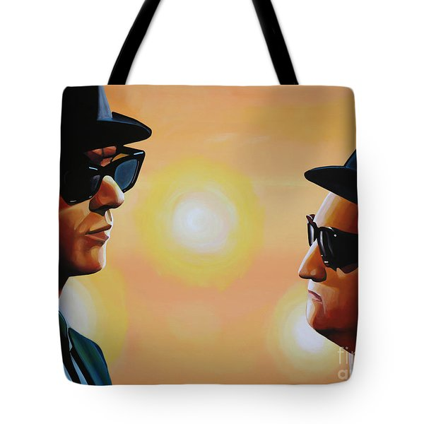 The Blues Brothers Tote Bag by Paul Meijering
